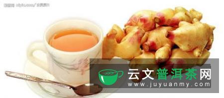 一杯热姜茶可缓解12种常见病