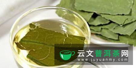 牙齿过敏者可以嚼些茶叶缓解